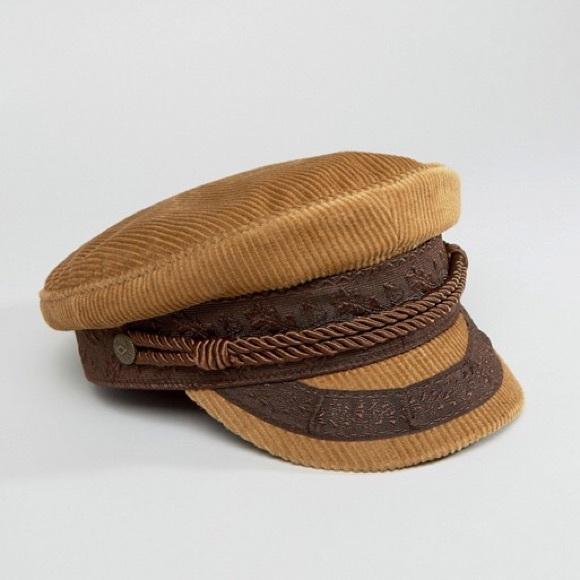 01043288b07 Brixton Accessories - Brixton Cord Baker Boy Hat